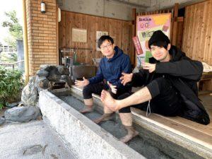 福島レポート1日目飯坂温泉にて